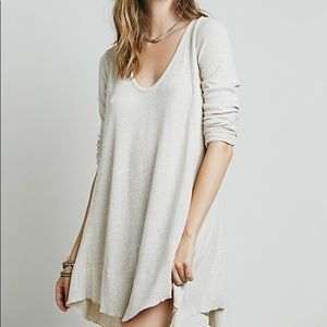 We the free free people marigold loose fit tunic